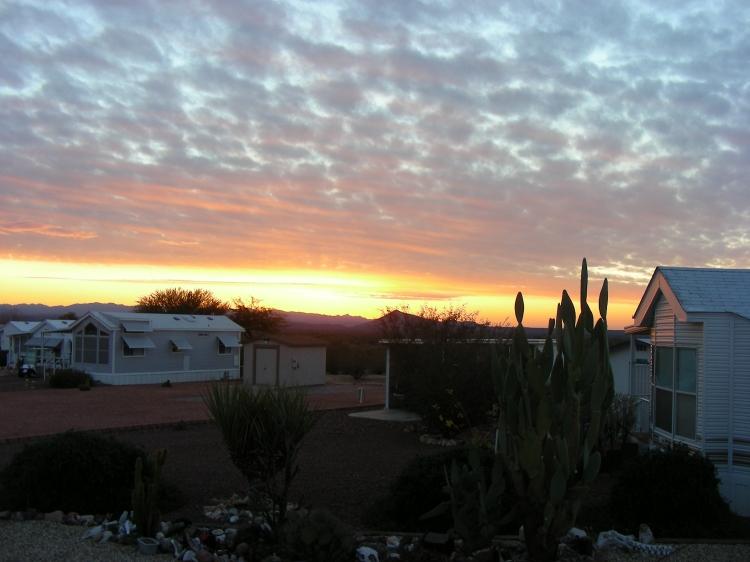 Sunrises are pretty good too....