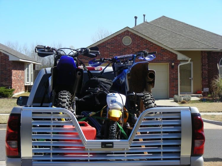 Loaded up and ready to squirt some Oklahoma dirt!