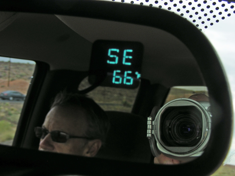 Yesterday we were in 99 degrees...