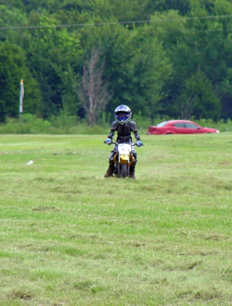 Becoming a good dirt bike rider too....