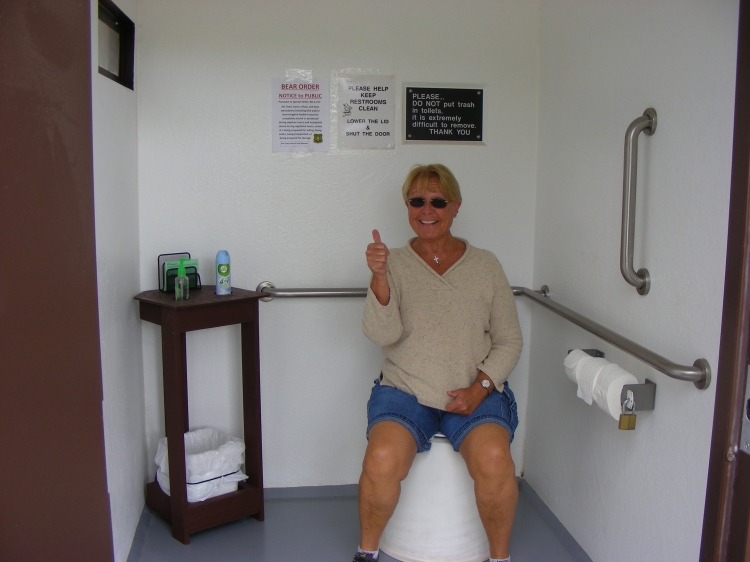 Did we mention the restrooms???? All we can say is wow. If you have used one of these before, you know how bad things can be... Just saying....