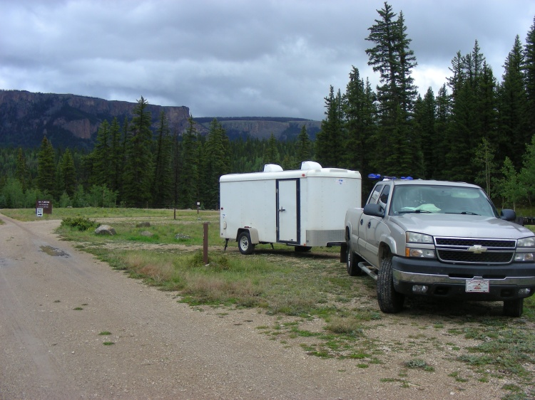 Great campsite, we highly recommend it. We give it five stars. Outstanding sounds, the waterfalls, wildlife, views that only could be from God, the nearest other camper, not even close, and fantastic restrooms.
