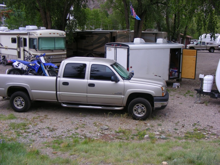 The Henson RV park was full, but made room for us anyway. It was operated by a real nice couple from Oklahoma...