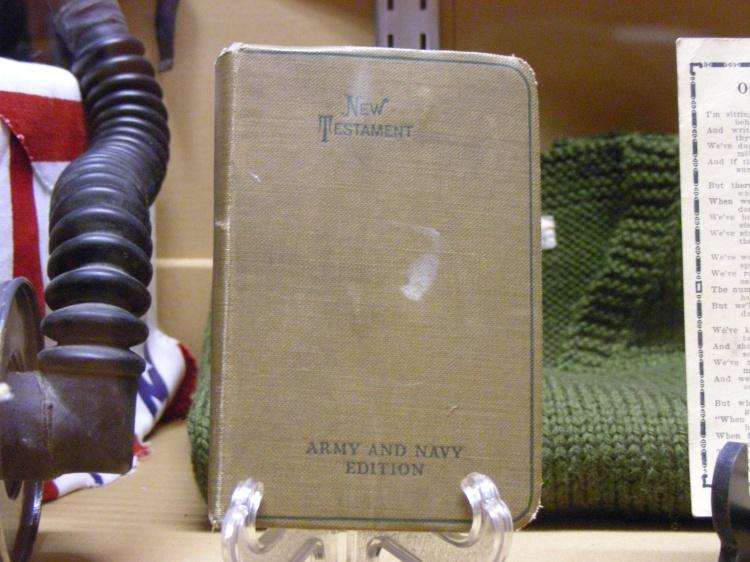 World War 1 Bible...