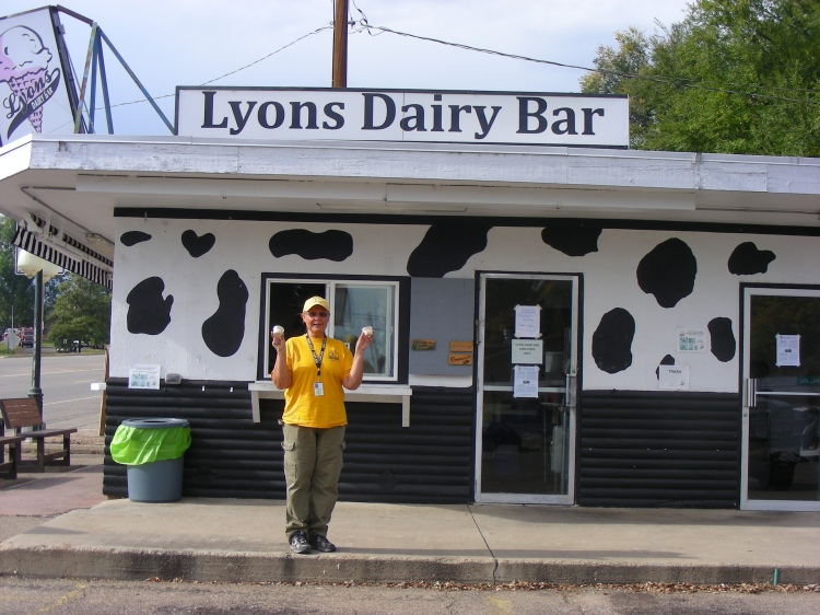 We celebrate our last day in Lyons...
