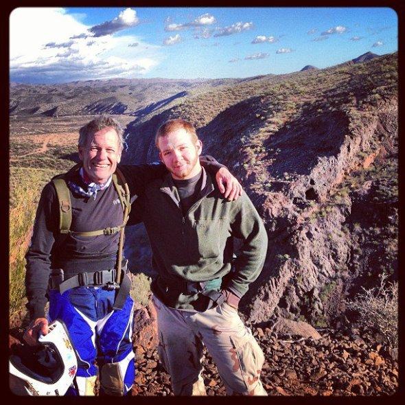 Great times above box canyon near Wickenburg Arizona...